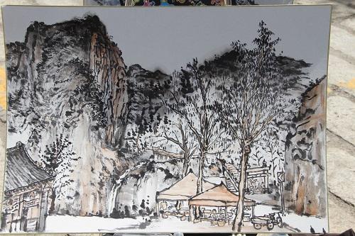 北京凤凰岭书院走进云蒙山写生采风活动系列报道(二)